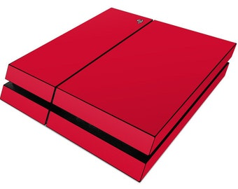 3M Protective PS4/CONTROLLER vinyl skin wrap. Red matte. Combo package, 1x Console and 2x controller skin, free shipping