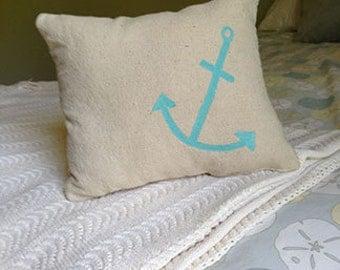 Anchor Accent Pillow