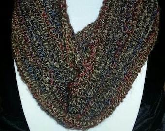 "fluffy infinity scarf in ""prairie"""