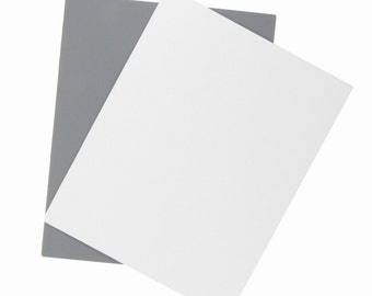 Gray Card 2-Pack For White Balance, Exposure Control, Color Balancing: Film or Digital Cameras
