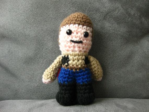 Star Wars Hans Solo crochet amigurumi by CraftingbyMissy ...