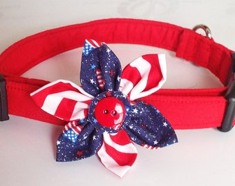 Popular items for 4th of july collars on Etsy
