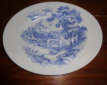 Vintage - Countryside Wedgewood - Oval Serving Plate - China - Nice