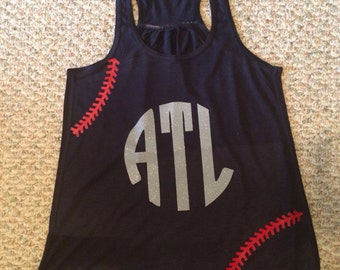 Baseball/ Braves Tank Top