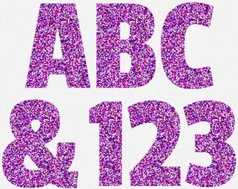 Purple Clipart Letters Scrapbooking Letters Purple Number Clip ArtNumber 2 Clipart Purple