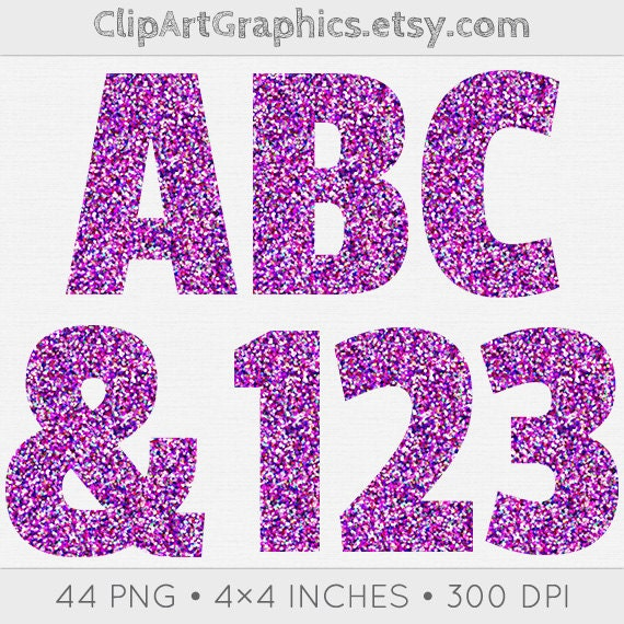 purple glitter letters numbers digital clipart 79 high purple glitter alphabet graphics purple by clipartgraphics 209