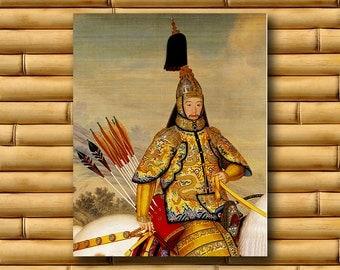 Chinese Decor Asian Art Print Retro Poster (CH22)