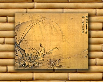 Chinese Decor Asian Landscape Poster Art Print China Retro (CH27)