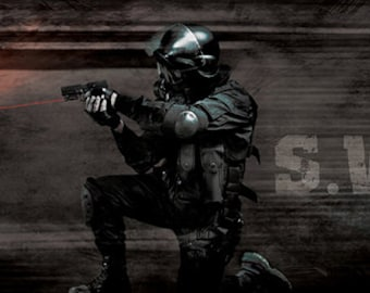 Swat by artist Jason Bullard