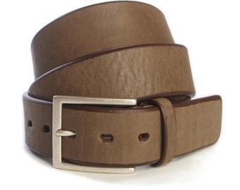 Bull Milled Leather Belt