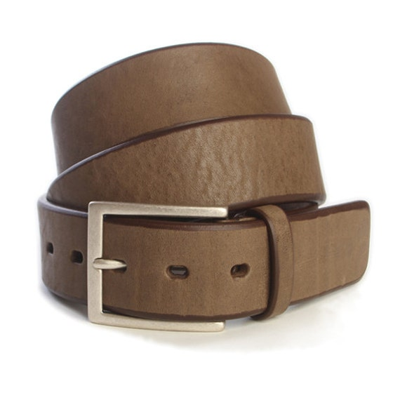 items similar to bull milled leather belt on etsy