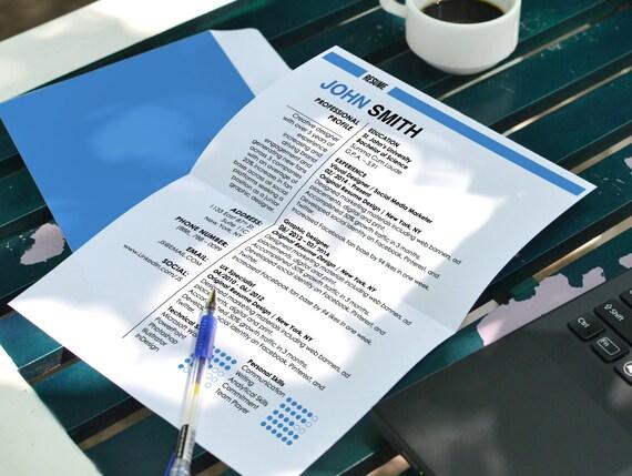 john smith resume and cover letter by originalresumedesign