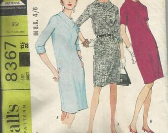 Vintage Sewing Pattern. McCalls 8367
