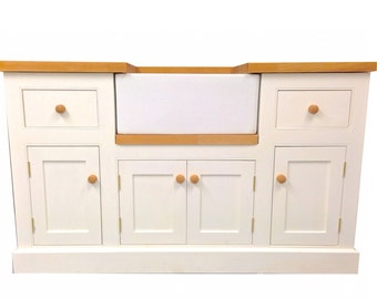 Hand Painted Butler Sink Unit