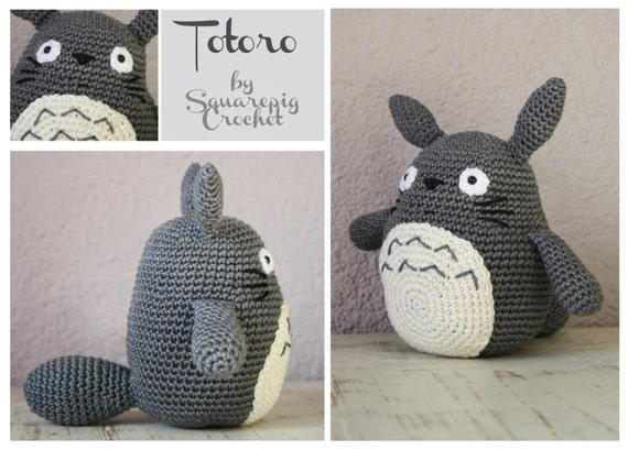 Amigurumi Totoro : Amigurumi totoro crochet pattern u craftbnb