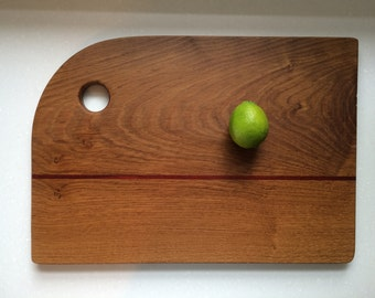 Handcrafted cutting board, bread board, cheese board, sushi board or charcuterie board