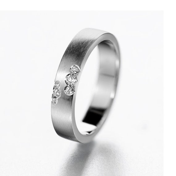 unique engagement ring modern wedding band simple engagement