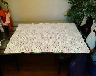 granny square crib blanket