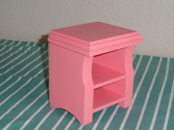 AG Doll Furniture Night stand pink by CraftsbyDawnandBob
