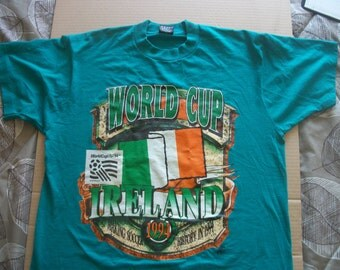 Ireland 1994 World Cup commemorative t-shirt   size mens L