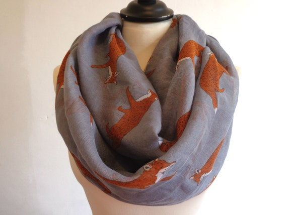 infinity scarf fox scarf fox infinity scarves scarf