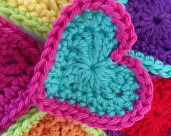 Crochet pattern heart