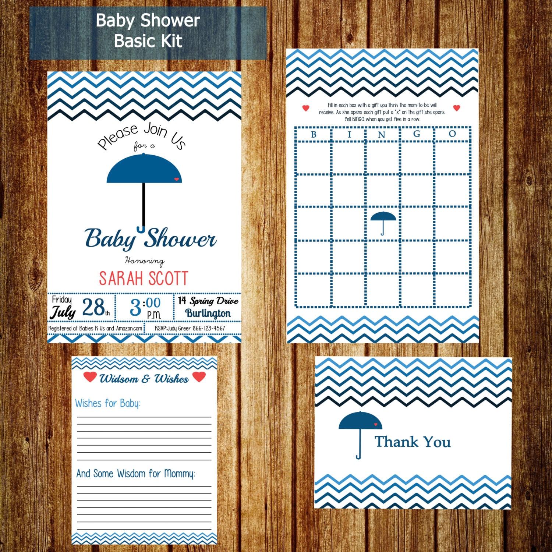 baby shower essentials party pack