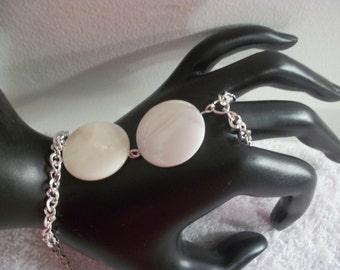 Ivory Tusk Hand Bracelet