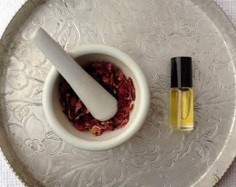 NEW OOAK Custom Fragrance - Natural Lux Perfume Oil Made Just For You. Personality Questionnaire and Your Choice of Notes
