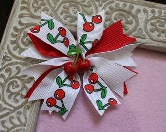 Sweet Cherry Spike Bow