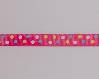 Pink spotty ribbon