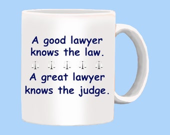 Good or Great Lawyer Mug