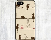 Lazy Cats iPhone 4 case, iPhone 4s case, Funny iPhone 5 case, iPhone 5s case, iPhone 5c case