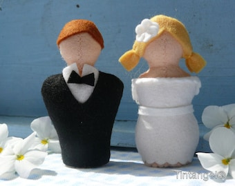 Pattern Wedding Couple