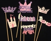 Photo Booth Props Princess Party