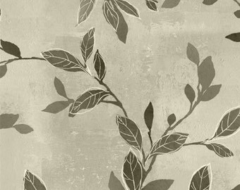Felicity Branches & Leaves Gray by Wilmington Prints - 42376-991 - Sold by the yard