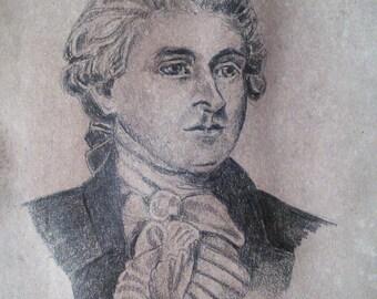 portrait miniature of Thomas Jefferson