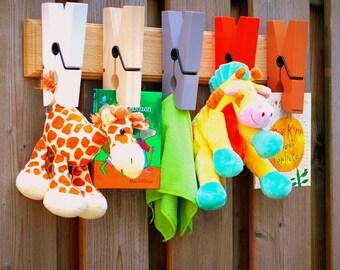 Kids room coat rack