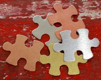 Puzzle Piece Stamp Etsy