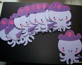 Octopus die cut
