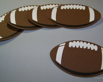 Football die cuts