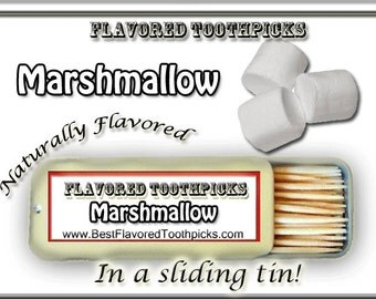 Marshmallow Flavored Toothpicks - Grill Tools, Grill Set, Grilling Gifts, Grill Accessories, Grilling Tools, Grilling Accessories, Guy Gifts