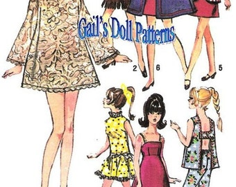Barbie Wardrobe Pattern