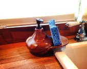 Special Order- Burnt Orange soap dispenser without sidecar