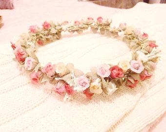Floral Tearose Crown