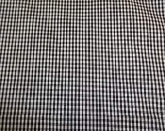 Black & White Checkered Fabric 427