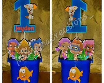 Bubble guppies centerpiece - Bubble guppies center pieces ...