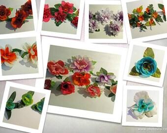 custom flower clip