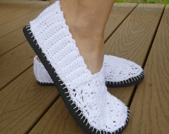 Flip Flop Flats Crochet Pattern - How to Turn Flip Flops into Slip-on Shoes