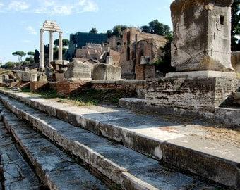 Ancient Roman Forum, Rome, Italy , Travel Photography